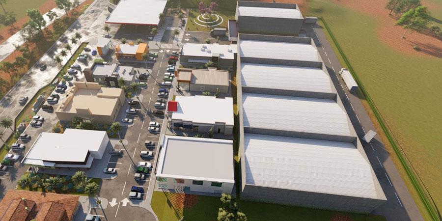 parque industrial en el Rancho